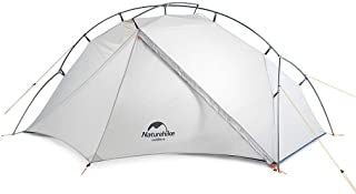 Naturehike 1人用 アウトドア 自立式 超軽量 4シーズン 防風防水 キャンピング プロフェッショナルテント