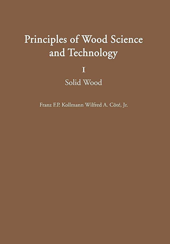 案件洞察力のある隙間Principles of Wood Science and Technology: I Solid Wood
