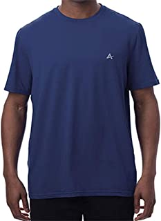 Arctic Cool Men's Crew Neck Instant Cooling Moisture Wicking Performance UPF 50+ Short Sleeve Workout Shirt