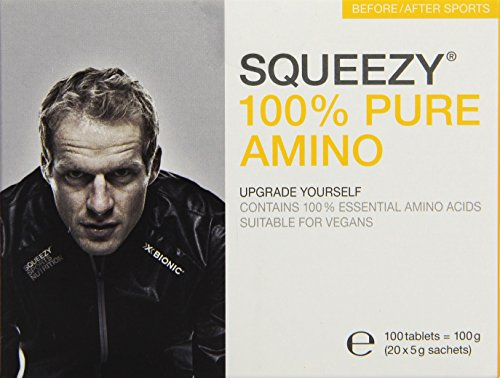 Squeezy 100 % Pure Amino, 20 Sachets à 5 g