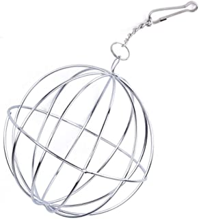 ヘイヘイ ホルダー チモシー 給餌ボール 牧草ボウル 牧草入れ 網のボール 吊る 兎用 ハムスター対応 ペット用品