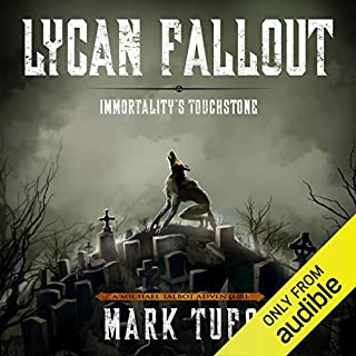Lycan Fallout 4: Immortality's Touchstone audiobook cover art