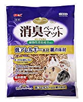 [GEX]小動物用床材ハムキュート消臭ペーパーマットお徳用700g