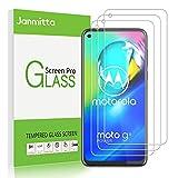 Janmitta Panzerglas Schutzfolie für Motorola Moto G8 Power/Moto G pro/Moto G Stylus [3-Stück], 2.5D Panzerfolie 9H Gehärtetem Glass [Anti-Kratzen][Anti-Bläschen] HD Bildschirmschutzfolie