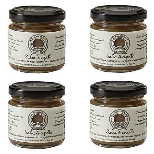 Azienda Agricola Prunotto Mariangela Salsa di Cipolle, 4 vasetti da 110 gr