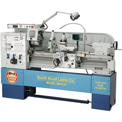 Best Buy! South Bend SB1013F - 14 x 40 Electronic Variable-Speed 440V Toolroom Lathe with Fagor DR...