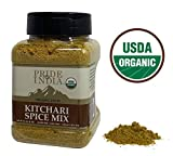 Pride Of India - Organic Indian Kitchari Spice Seasoning - 8oz (227gm) Sifting Jar - Make Perfect...