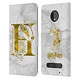 Head Case Designs Officiel Harry Potter Hufflepuff Aguamenti Deathly Hallows IX Coque en Cuir à...
