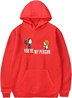 Womens Grey's Anatomy Group Sweatshirt Graphic Hoody Sweatshirt Tumblr Grays Anatomy Gifts