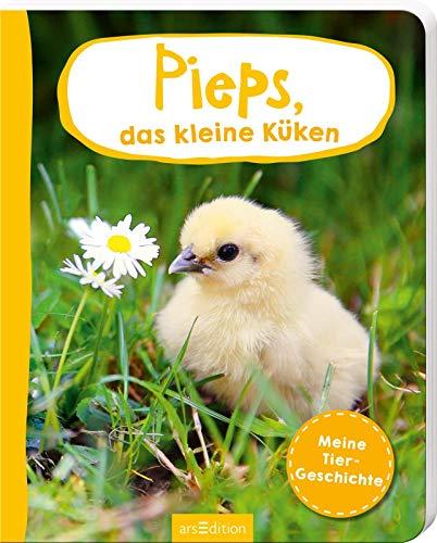 Erste Fotogeschichte: Pieps, das kleine Küken: Meine Tiergeschichte