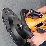 InLoveArts Levigatrice da Parete a Secco,1700 W 80-200 RPM Macchina per Lisciare,levigatrice a Disco da con Cambio a 6 Marce,Diametro del Disco 370 mm,Adatta per pareti in Gesso