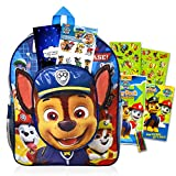 Paw Patrol Backpack School Supplies Bundle ~ Paw Patrol School Bag Set With Paw Patrol Pop Up Stickers, Coloring Pictures, Stickers, And More!