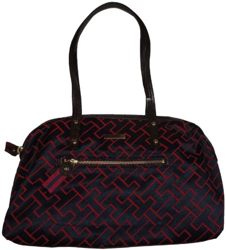 Women's Tommy Hilfiger Purse Handbag Tommy Navy/Red Multi