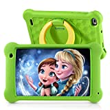 Surfans Kids Tablet, 7 inch IPS FHD Display, 2GB RAM, 32GB ROM, WiFi Android Tablets for Kids with Kids-Proof Case, Green