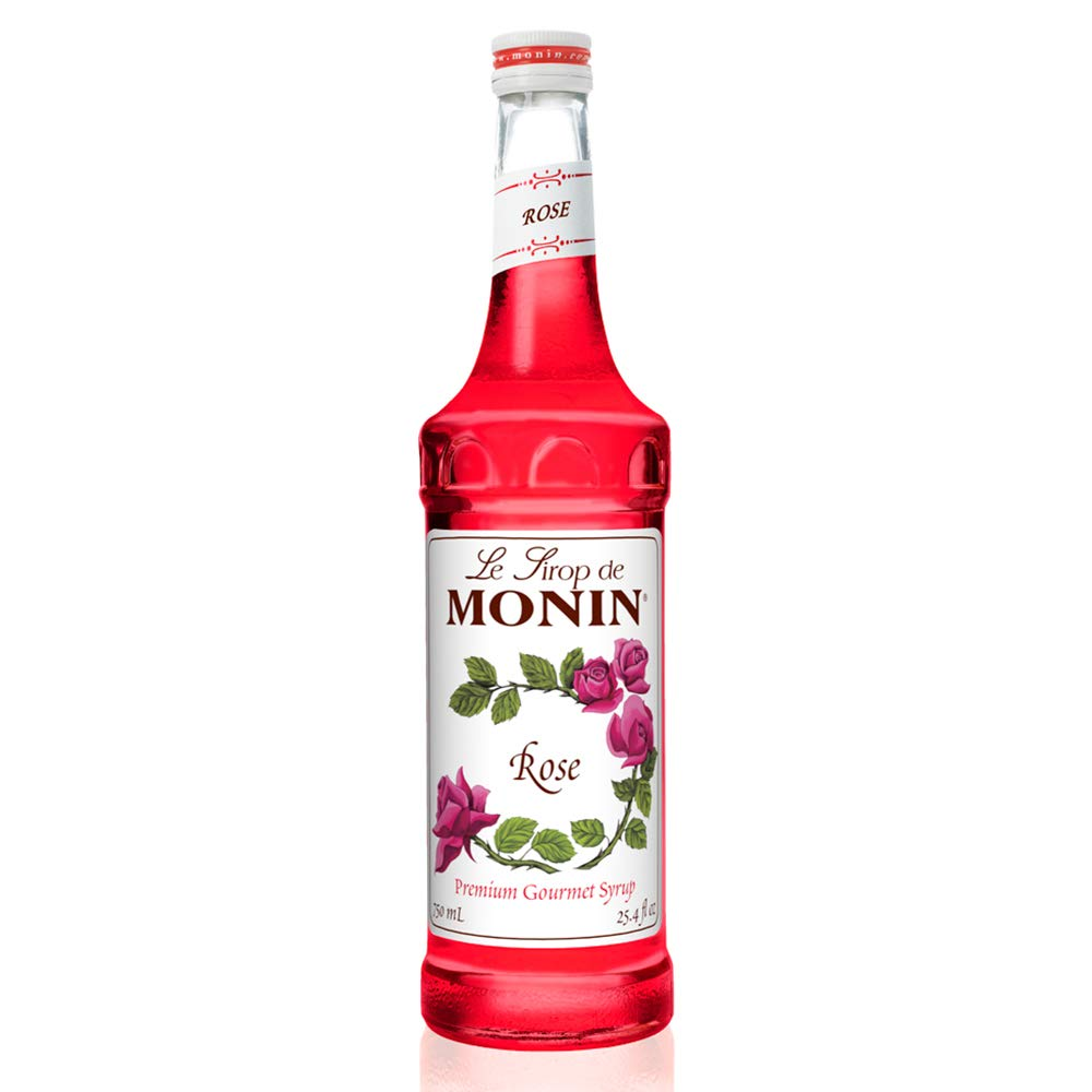 Monin - Houston Mall Ranking TOP1 Rose Syrup Elegant and Cocktails for Subtle Moc Great