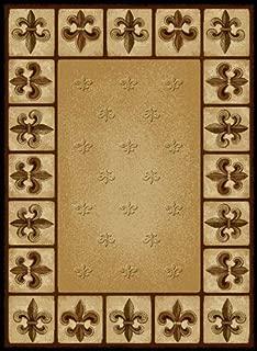 rugs with fleur de lis design