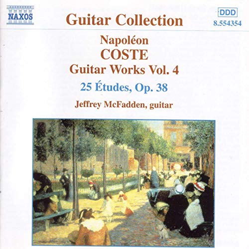 Coste Napoleon: Guitar Works O