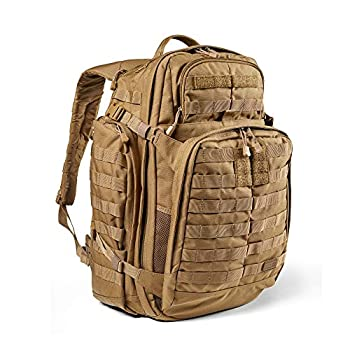 5.11 Tactical Backpack ? Rush 72 2.0 ? Military Molle Pack, CCW and Laptop Compartment, 55 Liter, Large, Style 56565 ? Kangaroo