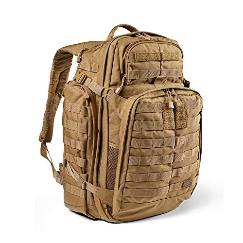 5.11 Tactical Backpack – Rush 72 2.0 – Military Molle Pack, CCW and Laptop Compartment, 55 Liter, Large, Style 56565 – Kangaroo