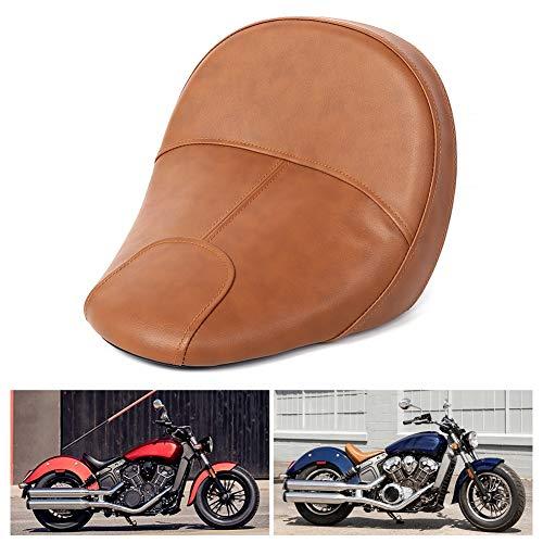 WYLZLIY-Home Asiento de motocicleta ergonomía motocicleta delantero conductores de alcance extendido asiento motocicleta cojín cojín conductor silla silla de montar para jinetes proporciona co