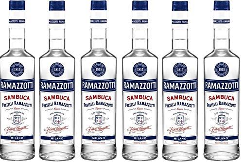6 Flaschen a 0,7l Ramazzotti Sambuca vol. 38%