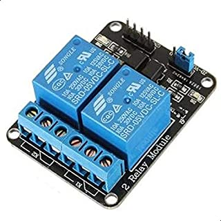 Arduino and Raspberry Pi 5v Two Channel Relay Module for Switching and Automation