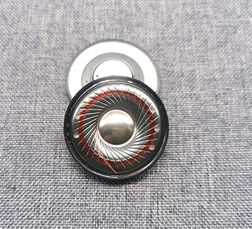 Wnuanjun 2 unids 40 mm Monitor Unidad de Altavoz de Auriculares HiFi...