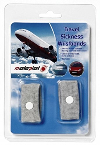 Anti Nausea / Motion Sickness Travel Wrist Bands. Ideal For Holiday And Travel