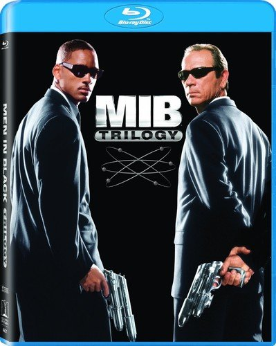 Men in Black (1997) / Men in Black 3 / Men in Black II - Set [Blu-ray]