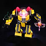 BRIKSMAX Kit de Iluminación Led para Lego Creator Robot Submarino,Compatible con Ladrillos de Construcción Lego Modelo 31090, Juego de Legos no Incluido