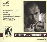 Richter plays Prokofiev by Richter Sviatoslav (2012-10-09)