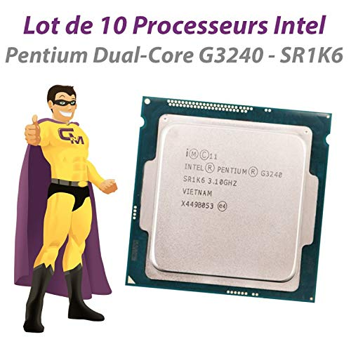 INTEL 10X Pentium G3240 SR1K6 3.1GHz 3MB FCLGA1150 Dual Core CPU