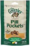 Feline Greenies Pill Pockets Cat Treats Chicken, 45 Treats, 1.6 Oz. (Pack Of 6)