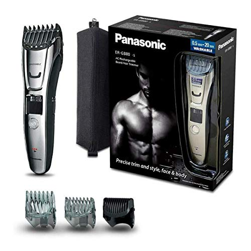 Panasonic ER-GB80-S503 Regolabarba e Tagliacapelli...