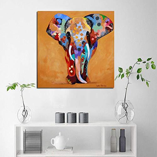 HllhPC kunstdruk, rok en gravures voor muurschilderingen, Bohemian wand, Rhapsody voor decoratie van het huis, woonkamer 30 * 30 Geen frame