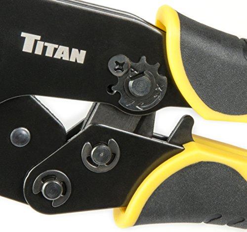 Titan 11955 Ratcheting Heat Shrink Terminal Crimper