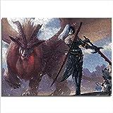 mmkow Puzzle Set 1000 Piezas Hunter Ghost Blade Imagen Original Brain Challenge Puzzle Fun Family Game 26x38