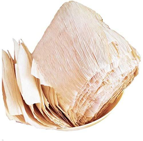 Abwan Natürliche Maisblätter, Küchenutensilien, Matte, Bastelmaterialien, 50g, Über 40-50 Blatt