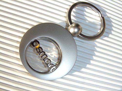 Kley & Partner Exklusiver Schlüsselanhänger mit Einkaufswagenclip 451