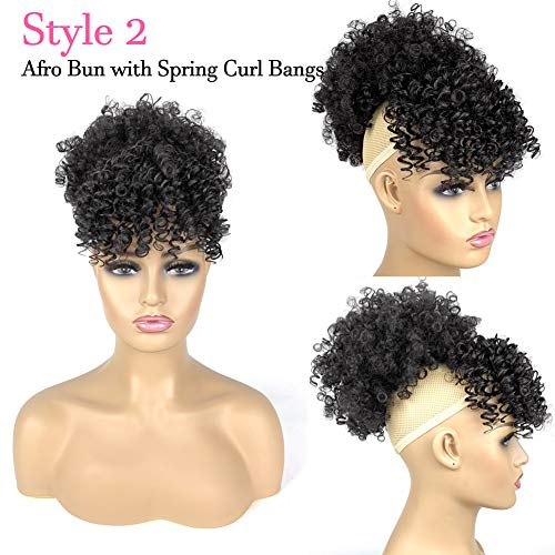 Afro hair pieces ponytails _image2