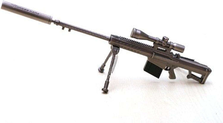 Guoqueen Cros Fire  The Kiss Of Death   Barrett M82A1 Sniper Rifle Alloy Mode Military Gift Pendant