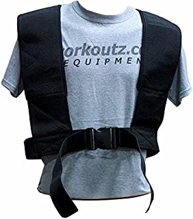 featured product Workoutz Speed Harness (Elite) with Dual Pulling Straps for Power Pulling Sled Training