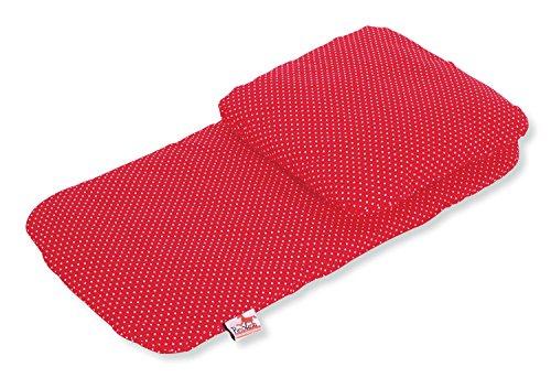 Pinolino - 27584-5 - Accessoire Poupée - Textile pour Landau - 2 Pièces - rouge