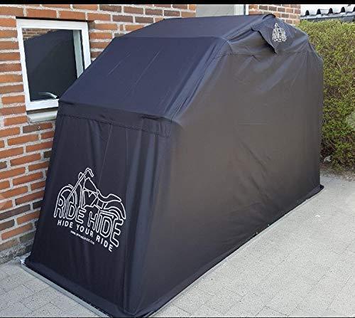Ridehide Waterproof Outdoor Motorcycle Shelter, Black