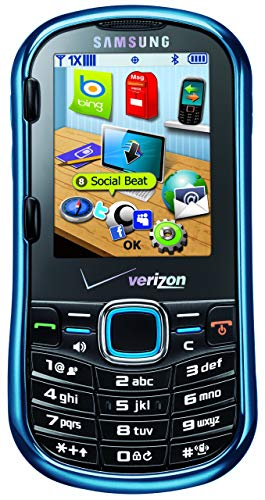 Samsung Intensity II, Metallic Blue (Verizon Wireless) (Renewed)
