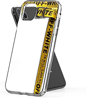 rebecc Off-White Industrial Belt Case Cover Compatible for iPhone iPhone (11 Pro Max)