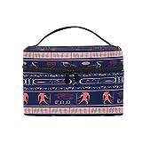 Pixiuxiu - Bolsa de maquillaje, diseño tribal egipcio de je