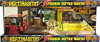 Zoo Med Laboratories SZMNTS21 Reptihabitat 20 Long Snake Starter Kit