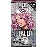 Got2B Metallics Permanent Hair Color, M84 Sakura Pink