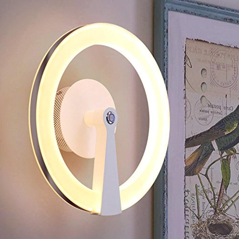 StiefelU LED Wandleuchte nach oben und unten Wandleuchten Dimmbare Wandleuchten am Bett Wohnzimmer Schlafzimmer gang Treppe hotel Wand Lampen, Durchmesser 28 cm, warmen gelben Licht 20W LED